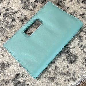 Mint Envelope Clutch *NEVER WORN*